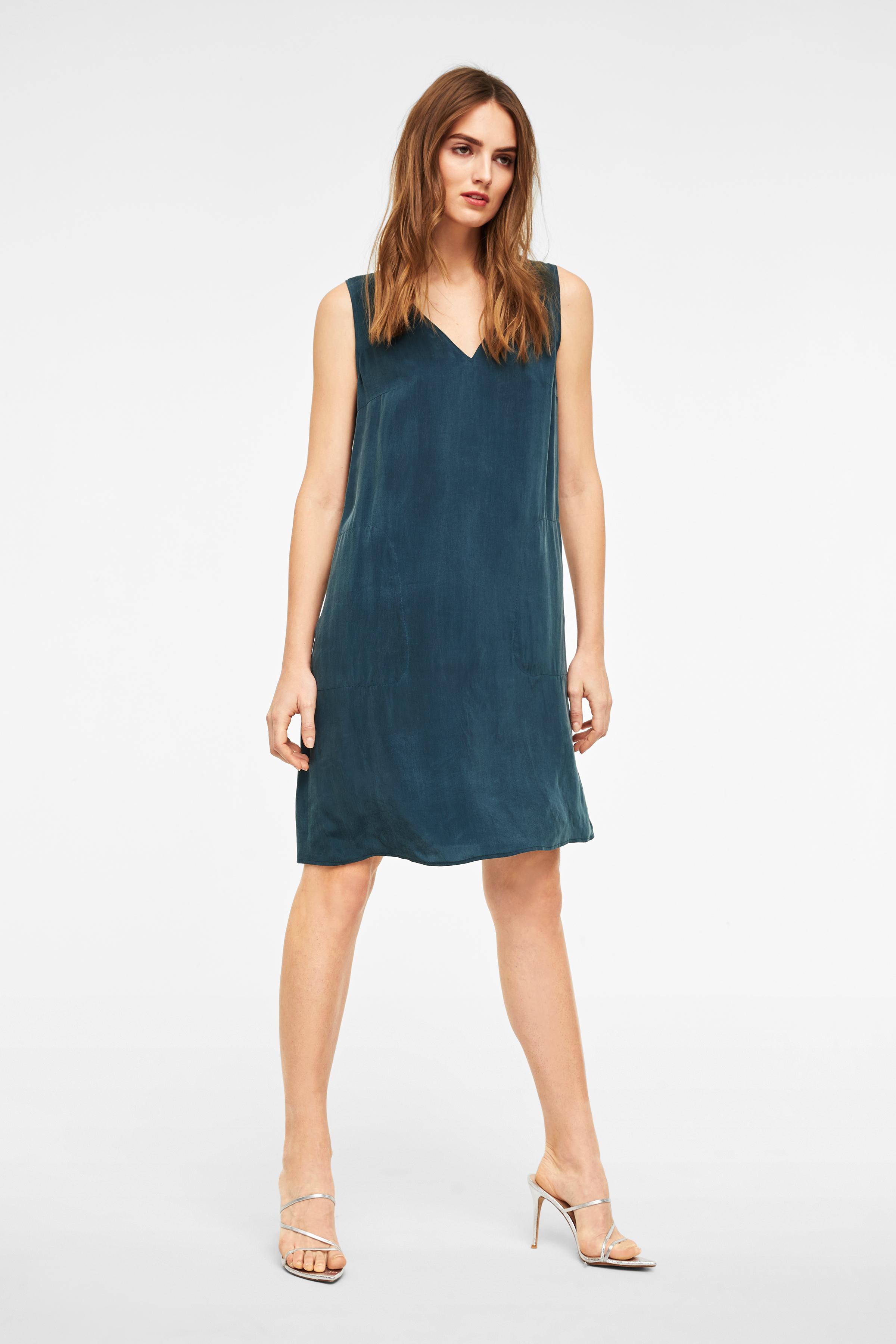 Damen Kleid Aus Reinem Cupro Lania Online Kaufen Bei Drykorn